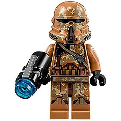 LEGO Star Wars Geonosis Airborne Clone Trooper Loose Minifigure: Toys & Games