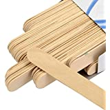 MCP Wooden Professional Disposable Wax Knife/Spatulas/Applicators 100 pcs Box