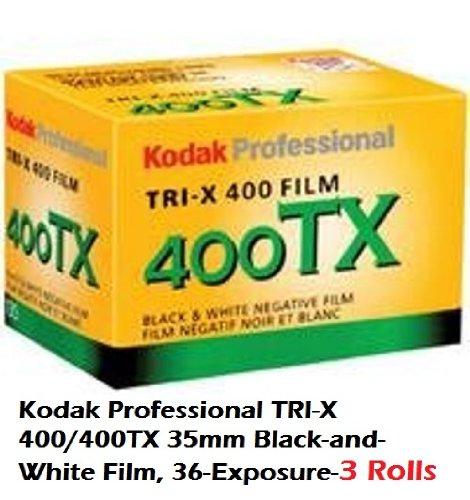 Kodak Professional TRI-X 400/400TX 35mm Black-and-White Film