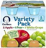 Gerber Juice - Variety Pack - 4 fl oz - 4 pk