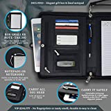 Lautus Designs Junior Zippered Business Padfolio
