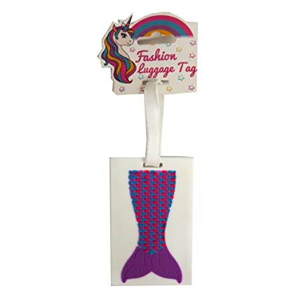 0d50962f33c2 Amazon.com: RSW Girls 3D Fashion Luggage and Bag Tags - Mermaids ...