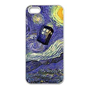 Happy Doctor Who unique pattern Cell Phone Case for Iphone 5s