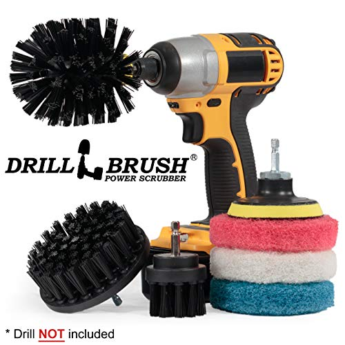 Drill Brush Scrubber Bathroom Cleaning product image