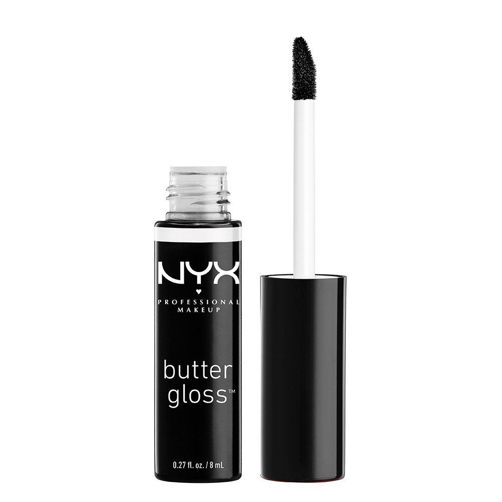 NYX Professional Makeup Butter Gloss, Blackberry Pie, 0.27 Fluid Ounce