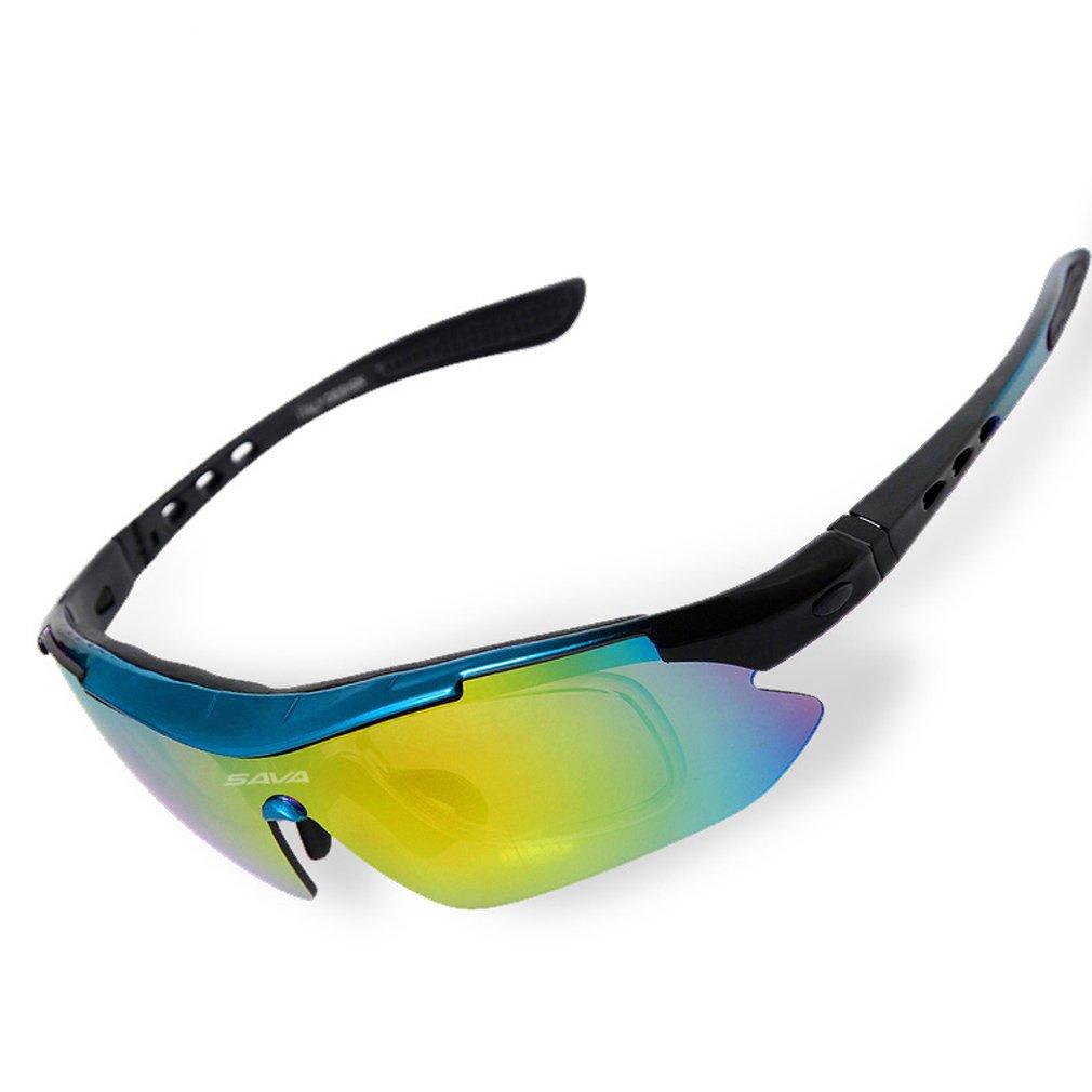 SAVA TR90 UV400 Polarisierte Sportbrille Radbrille Sonnenbrille ...