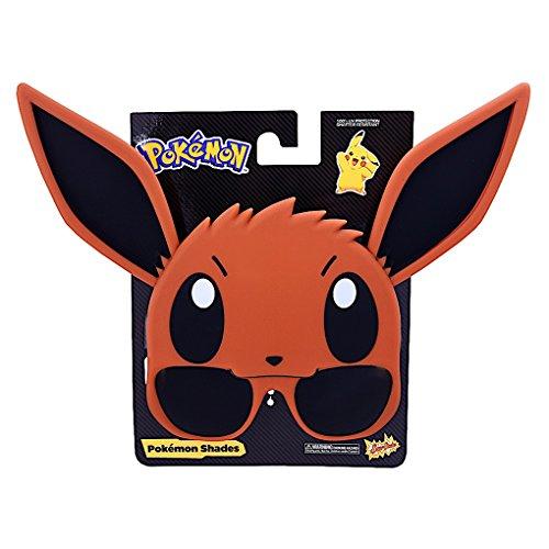 Eevee Sun Staches – Pokemon Sunstaches – Sunglasses – Sun - Sunglasses Pokemon