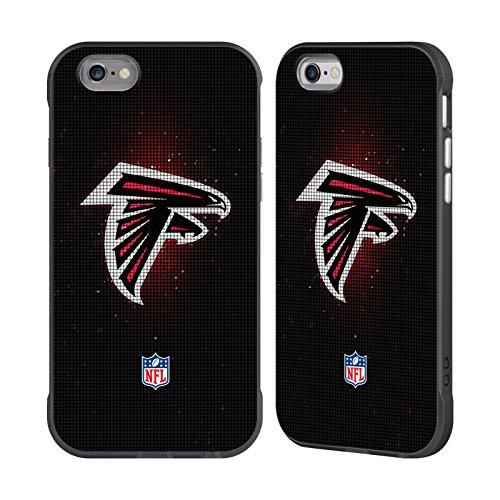 Atlanta Falcons Black Football Case (Official NFL LED 2017/18 Atlanta Falcons Black Fender Case for Apple iPhone 6 / iPhone 6s)