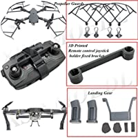 XSD MODEL 1 set Landing gear+Propeller guards+3D Printed Remote control joystick holder fixed bracket For Mavic Pro