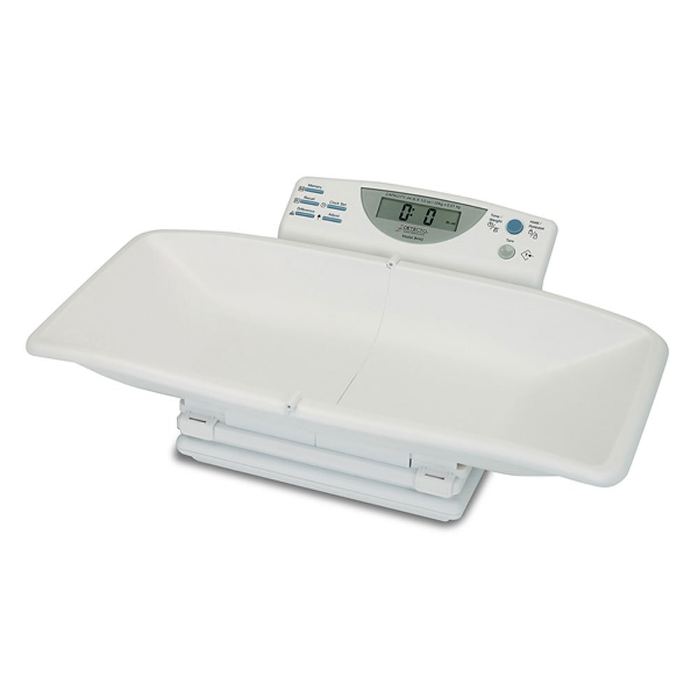 Detecto Digital Portable Baby Scale with Tray by Detecto