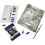 Royal & Langnickel Paint Your Own Masterpiece Painting Set, Garden Table