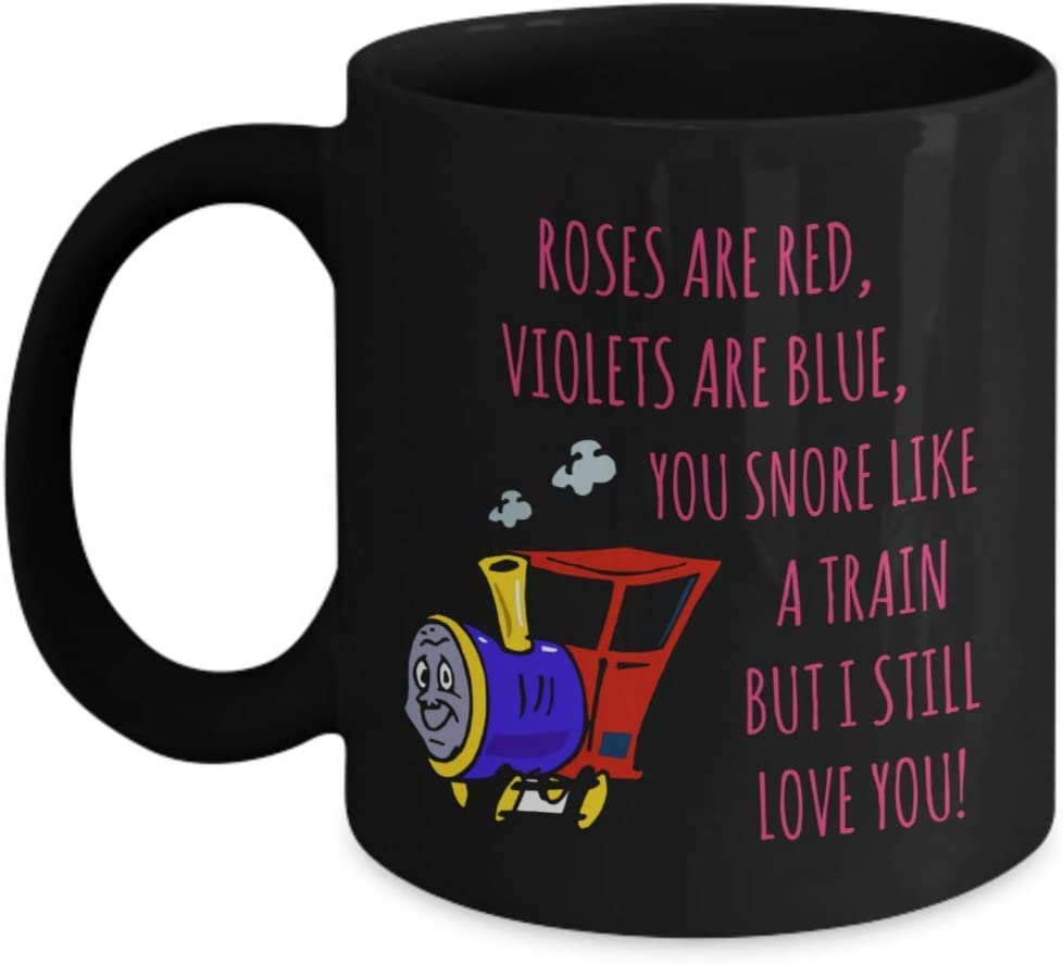 Funny Snoring Mugs for Husband Who Snore Best Gift for Valentine/'s Day Mug
