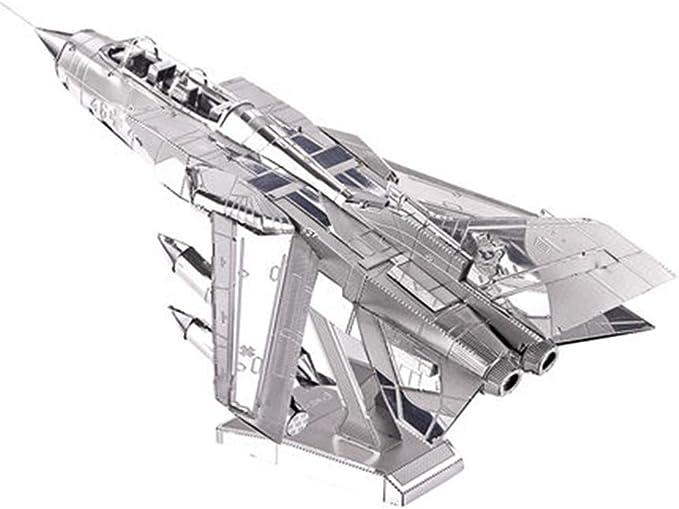 Decoración Creativa Tornado Luchador Montar Modelo Militar Avión de Bombardeo 3D Manual para niños Rompecabezas Práctico Festival de Juguete conmemorar Regalo: Amazon.es: Hogar