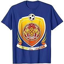 Bhutan Soccer Jersey Russia 2018 Football Team Fan Shirt