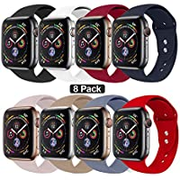 NUKELOLO Sport Band Compatible with Apple Watch 38MM 40MM...
