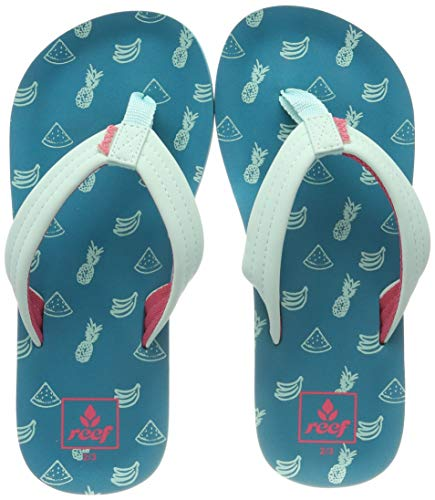 Reef - Girls Kids Ahi Sandals, Size: 2/3 M US Little Kid, Color: Fruits