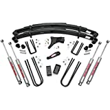 Rough Country - 491-86-98.20 - 4-inch Suspension Lift Kit w/ Premium N2.0 Shocks for Ford: 86-98 F350 4WD