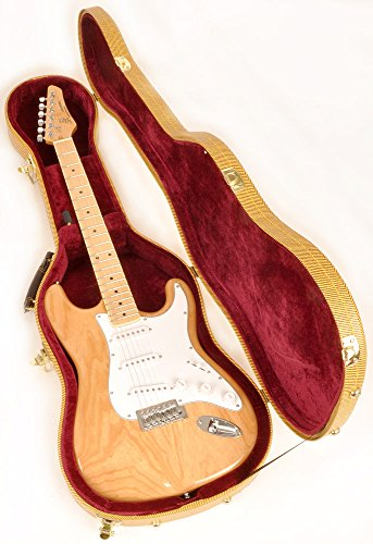 Douglas EGC-400 ST Tweed Burgundy Guitar Case for Fender Stratocaster Telecaster and Similar Models