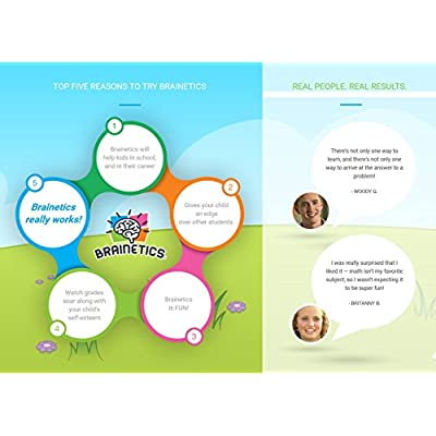 Brainetics Educational Games, Memory Techniques & Math Problem Shortcuts, Award Winning, All Ages: Toys & Games