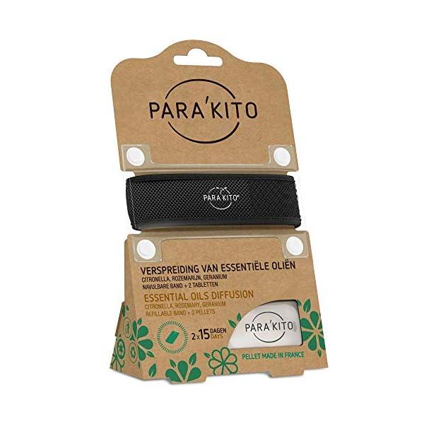 Para'kito - Pulsera de difusión de aceite esencial contra mosquitos para adultos 4