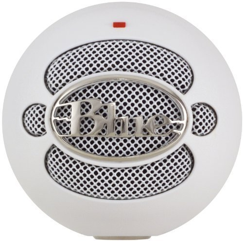 Blue Microphones Snowball USB Microphone (Textured White) by Blue Microphones [並行輸入品] B00VSJWGT0