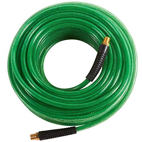 Metabo HPT Air Hose | 1/4-Inch x 100 Ft | Professional Grade Polyurethane | 300 PSI | 19413QPM, Green