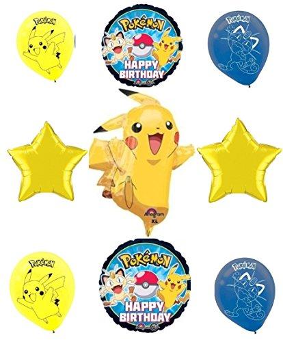 Pokemon Pikachu & Friends Happy Birthday Balloon Decoration Kit