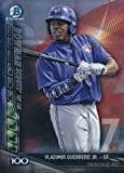 2017 Bowman Chrome Scouts Top 100 #BTP-97 Vladimir Guerrero Jr. Toronto Blue Jays Baseball Card