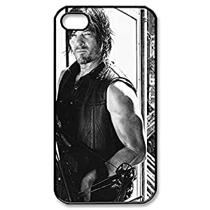 Fancy The Walking Dead Daryl relation Dixon Lightweight Printed Hard Plastic case Snap-on The Walking Dead cover for to iphone can 5 5S 4g- Black 022702 web