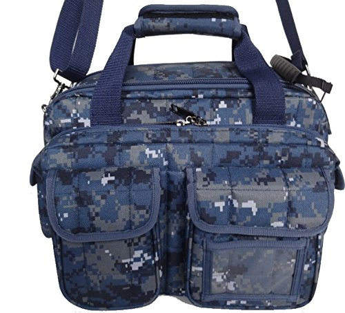 EXPLORER Tactical 12 Pistol Padded Gun and Gear Bag Navy Dig