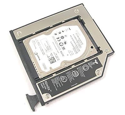 Nimitz 2nd HDD SSD Hard Drive Caddy Adapter for Dell E6400 E6500 E6410 E6510 M2400 M4400 M4500 Modular Bay