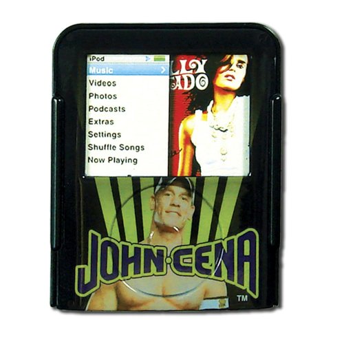 Ipod Nano Black Neck Strap - WWE Case with Neck Strap for ipod Nano Video (Black)