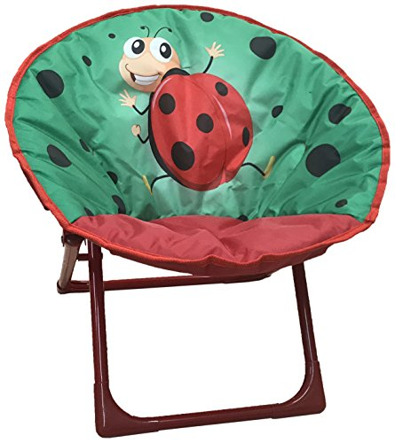 Yummy Cooky Moon, Lounge Chair For Toddlers and Kids, Lightweight Foldable Kids Saucer ()