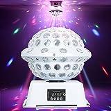 Disco Lights, URPIRE 3W 6 LEDs Strobe Lights Crystal Magic Rotating Mini RGB DJ Stage Lighting for Kids Bedroom, Home, Birthday Party, KTV, Bar, Wedding, Christmas Decorations