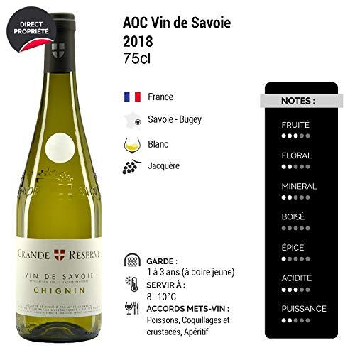 Vin-de-Savoie-Grande-Rserve-Chignin-Blanc-2018-Maison-Perret-Vin-AOC-Blanc-de-Savoie-Bugey-Cpage-Jacqure-Lot-de-12x75cl