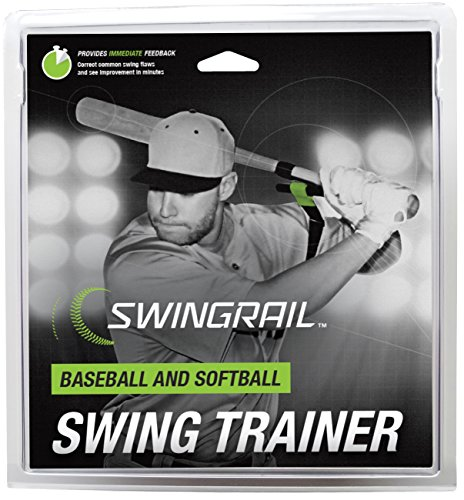 SWINGRAIL Baseball/Softball Training Aid (Best Baseball Swing Mechanics)
