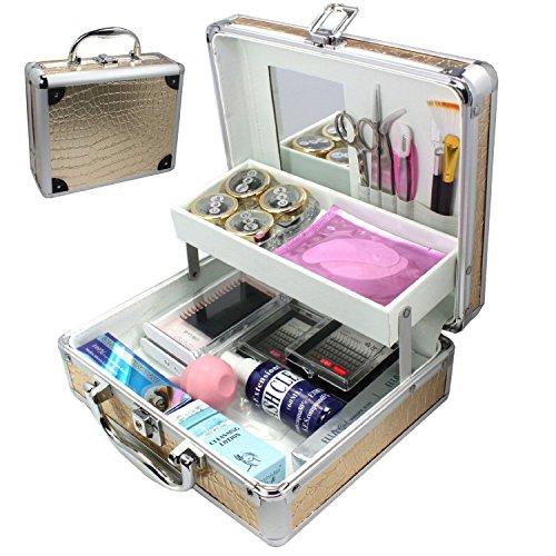 Baisidai False Eyelash Extension Glue Removal Kit Tools Set Box Case-A158