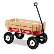 All Terrain Radio Flyer Full Size Steel & Wood Wagon