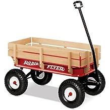 Radio Flyer Full Size All-Terrain Steel & Wood Wagon