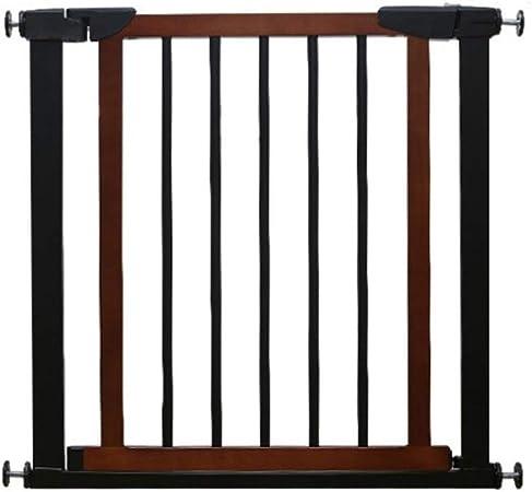 Barrera De Seguridad Del Bebé, Valla de madera maciza for puerta de bebé Valla de seguridad