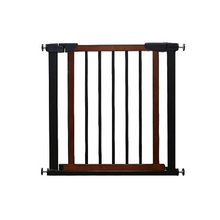 Barrera De Seguridad Del Bebé, Valla de madera maciza for puerta ...