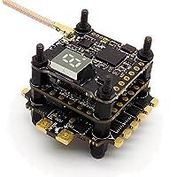 HGLRC F440 TX20.V2 Tower Stack Combo F4 Fight Controller, 40A 3-5S DShot1200 ESC, TX20.V2 25-350mW 5.8GHz Transmitter
