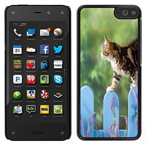 STPlus Gato en una caja Animal Carcasa Funda Rigida Para Amazon Fire Phone #10