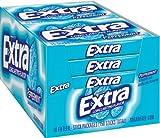 Extra Gum, 15-Stick Slim pks, 20 pk, Peppermint