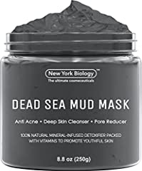 New York Biology Dead Sea Mud Mask is the Ultimate Mineral-Infused, Spa Quality Mud on the Market!! If You Are Looking for a Mask that Tightens Your Skin Leaving You with a Healthy Looking Glow, Look no Further!!  Noted for its high concentra...
