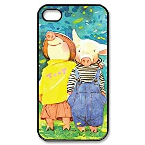 Clzpg Durable Iphone4,Iphone4S Case - Pig diy case cover