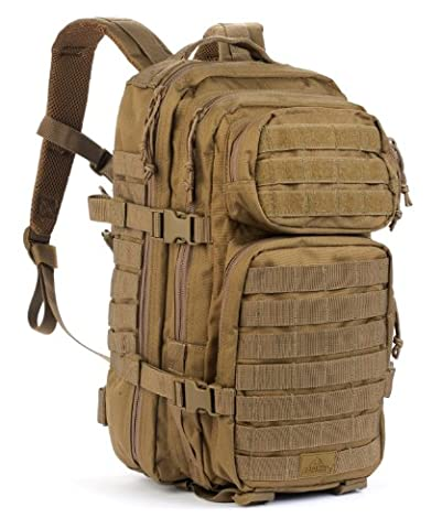 Red Rock Outdoor Gear Assault Pack (Medium, Coyote Tan) - Outdoor Gear