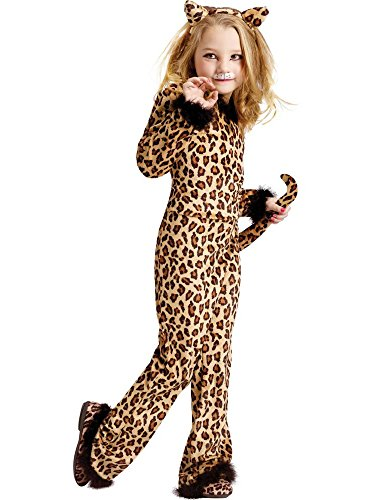 Pretty Leopard Girl's Costume MEDIUM