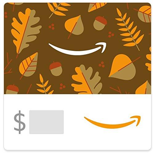 Amazon eGift Card - Fall Leaves (Thanksgiving Gift For)