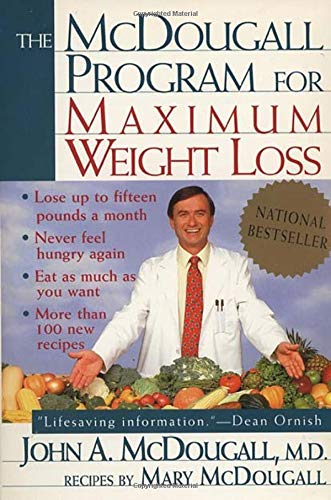the mcdougall program for maximum weight loss paperback – april 1, 1995 The McDougall Program for Maximum Weight Loss Paperback – April 1, 1995 51asdRWNTML